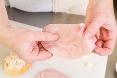 Luxusní domácí chlebíčky krok za krokem - Proženy Plastic Cutting Board