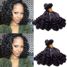 "Full Head 3Bundles 300g Natural Black Human Hair Extension Hair Wefts 18""20""22"" #WIGISS #HairExtension"