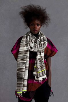 This was the dress I bought.  I love it with this scarf.  I wish I had the afro to complete the look.  Alas...