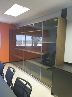 Frameless Glass Doors or Partitions.