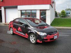 Ottawa Car Wrap - Pilon Hamilton CRX