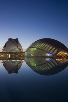 La Ciudad de Artes - Valencia. Santiago Calatrava