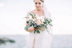 Bridal portraits by the sea  I  Petra Veikkola Photography…