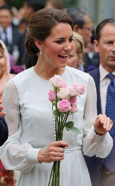 Kate Middleton Photo - The Duke And Duchess Of Cambridge Diamond Jubilee Tour - Day 4