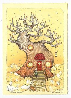 nimasprout - Art by Nicole Gustafsson: Holiday Show at Lux Center