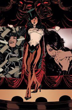 Zatanna and Catwoman by Adam Hughes