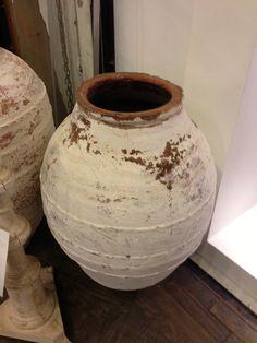 Olive pots Olive Jar, Outdoor Pots, Urn, Glaze, Pottery, Feelings, Home Decor, Enamel, Ceramica