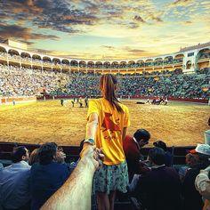 71. #followmeto the corrida. 26 September 2013 (the 71st pic of the photo series by Russian Photographer, Murad Osmann)