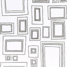 Graham & Brown Label Frames Wallpaper