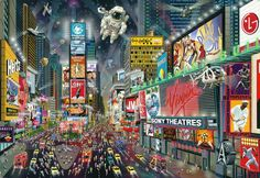 Alexander Chen - Times Square Panorama - Default Title