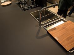 Granite countertops are passe .... Here is the newest materials being used... my fav is the nanotech !