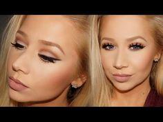 Full Face Talk-Thru Makeup Tutorial Feat. Kat Von D Shade + Light Eye Contour Palette + LA Splash - YouTube