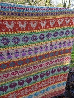 quilting Jeannet: It giet oaon. Fair Isle Knitting Patterns, Fair Isle Pattern, Crochet Patterns, New Project Ideas, Knit Or Crochet, Fair Isles, Free Knitting, Cross Stitch Embroidery, Needlework