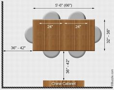 4 seater dining table size - Google Search | Dining Areas | Pinterest