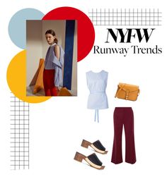 """""""NYFW"""" by janicevc on Polyvore featuring Rosetta Getty"""