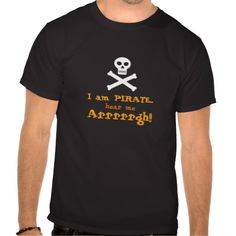 I am PIRATE (also for Talk Like a Pirate Day - September 19)