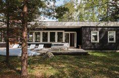 Mid-Century Modern house in Sweden, exterior