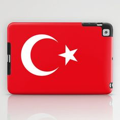The National flag of Turkey - Authentic version iPad Case