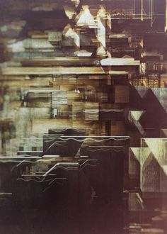 Destiny: Digital Artworks by Atelier Olschinsky, Peter Olschinsky and Verena Weiss (http://www.olschinsky.at/)  #architecture #abstract