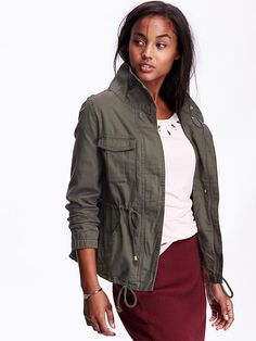 Definitely interested in an olive jacked or vest like this.