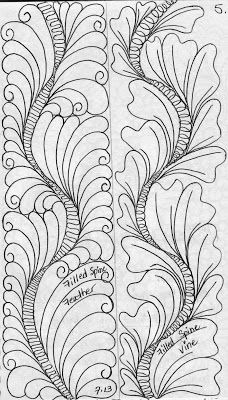 5. LuAnn Kessi: From My Sketch Book.....Feathers with Filled Spines