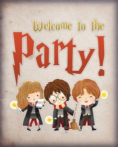 Come on in and check out our BRAND NEW.JUMBO Free Printable Harry Potter Party Pack For All Ocassions! It is chocked full of every decoration you need! Harry Potter 6, Magia Harry Potter, Harry Potter Cupcakes, Harry Potter Cartoon, Harry Potter Baby Shower, Harry Potter Pictures, Harry Potter Birthday, Harry Potter Invitations, Harry Potter Printables