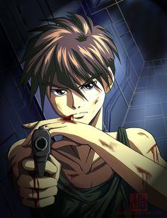 Gundam Wing ~~ Pilot 01: The Perfect Soldier by ~Nishiio, fanart of Heero Yuy