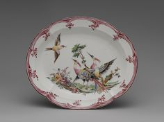 Mennecy | Dish | French, Mennecy | The Met