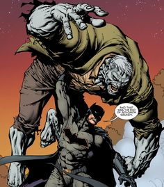 Batman vs. Solomon Grundy