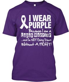 Lupus Awareness Shirt  CurcuminPro - the highest know curcumin bioavailability on the market today. 15000 times more bioavailable than standard curcumin. Discount code for 10% discount NOPAIN. Enter NOPAIN for discount on the highest known bioavailable curcumin.