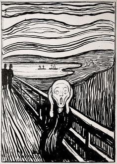Edvard Munch, 1863 - 1944 - The Scream 1895