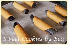 Cannolis (al horno) | Cocina Cannoli, Queso Fresco, Sweet Cookies, Relleno, Metal Pipe, Pret A Manger, Cream Horns