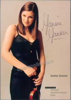 Jansen, Janine - Signed Photo
