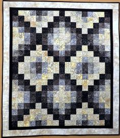 Batik Patchwork Lap Quilt Tablecloth Wall by Quiltsbysuewaldrep