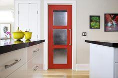 The Red Door by The 10 cent designer, via Flickr Benjamin Moore Million Dollar Red