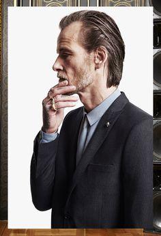 The Kooples Man FW13 #thekooples #striped #flannel #suit #jacket
