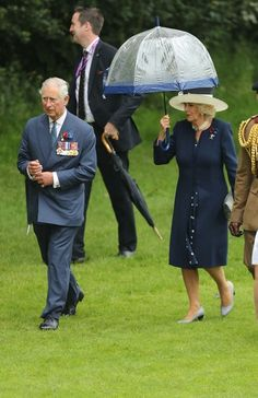 Camilla Parker Bowles Photos - Prince Charles, Prince of Wales and Camilla, Duchess of Cornwall attend a service to mark the 100th anniversary of the beginning of the Battle of the Somme at the Thiepval memorial to the Missing on July 1, 2016 in Thiepval, France. The event is part of the Commemoration of the Centenary of the Battle of the Somme at the Commonwealth War Graves Commission Thiepval Memorial in Thiepval, France, where 70,000 British and Commonwealth soldiers with no known grave…