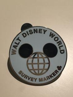Walt Disney World Survey Marker Pin