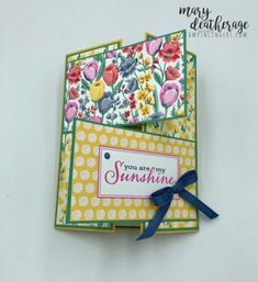 Stampin' Up! Flowers For Every Season Sneak Peek Fun Fold With Video Tutorial | Stamps – n - Lingers