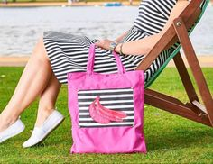 Tote Bags, Gym Bag, Banana, Etsy Shop, Trending Outfits, Unique Jewelry, Handmade Gifts, Pink, Check