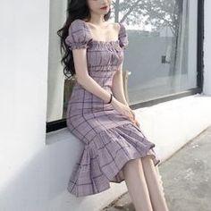 Beautiful Indian and Pakistani dress Cute Fashion, Trendy Fashion, Vintage Fashion, Stylish Dresses, Simple Dresses, Ulzzang Fashion, Korean Fashion, Pretty Outfits, Pretty Dresses