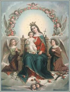 Feria Friday - Queenship of the Blessed Virgin & Feast Day Fare