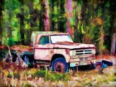 "Check out my art piece ""Old rusty truck"" on crated.com"