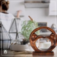 Do you style your home sustainably? Our Jiwa Heart and Soul figure would be the perfect addition to your decor. Be sure to enter Kendra.IThoughtOfYou@gmail.com at checkout!