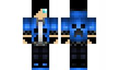 minecraft skin Teen Hoody
