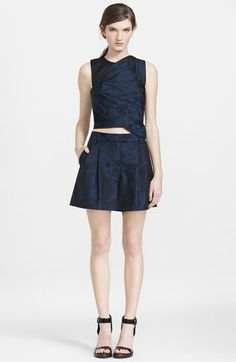 3.1 Phillip Lim Origami Pleat Crop Top available at #Nordstrom
