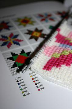 Tunisian crochet | Flickr - Photo Sharing!