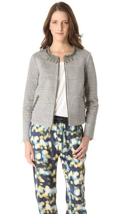 Elizabeth and James Quinn Embellished Jacket. I need this jacket!