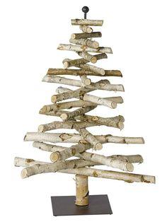 Deko-Baum ab 59,90€. Aus Birkenholz gesägt, Aufwändig von Hand arrangiert, Jedes Teil ein Einzelstück bei OTTO