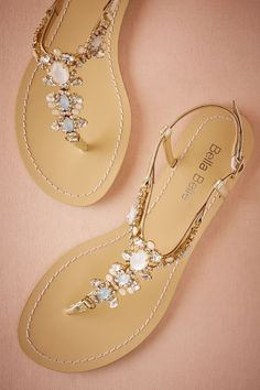 Tulum Sandals from @BHLDN